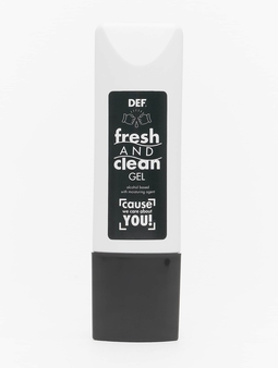 DEF Fresh And Clean Gel Hand Cleaner //  Warning: only by standard shipping and only to Germany Sonstige weiß